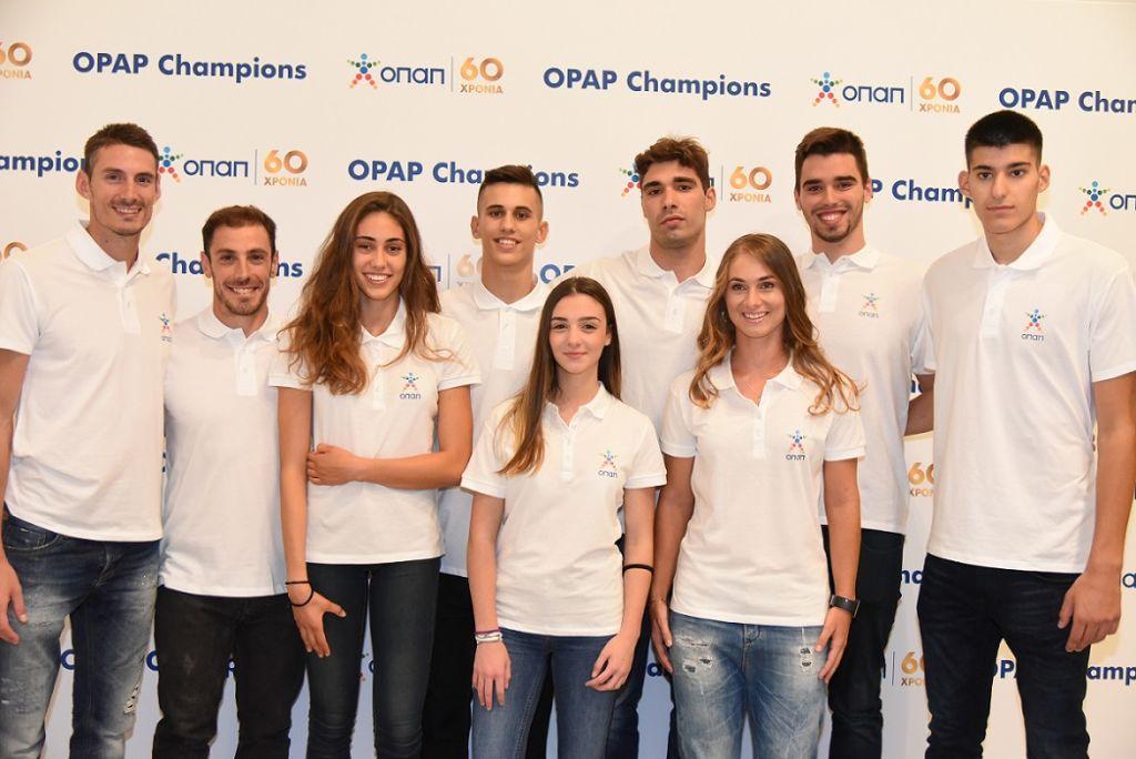 Ο ΟΠΑΠ στο πλευρό της νέας γενιάς αθλητών με το πρόγραμμα «ΟΠΑΠ Champions»   pao.gr