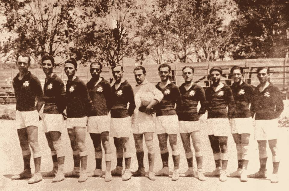 1922 – PPO renamed Panathinaikos Athletic Club | pao.gr