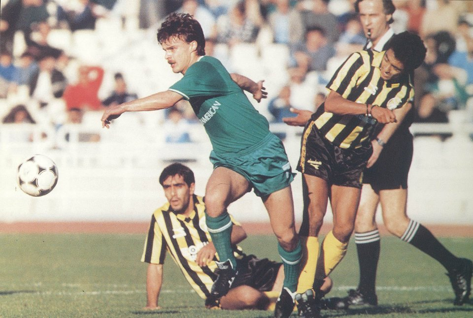 1998 – Warzycha is the first scorer | pao.gr