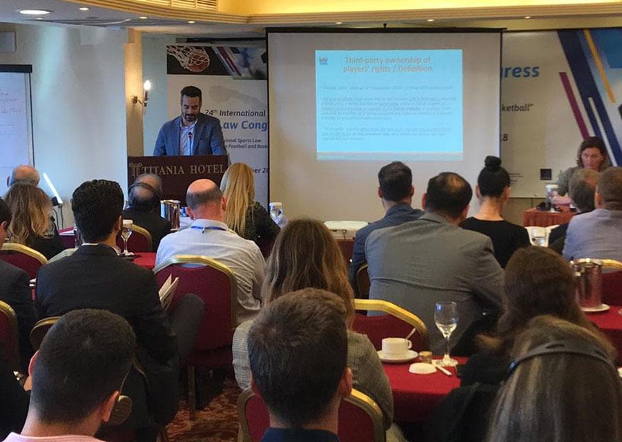 Ο Παναθηναϊκός στο Διεθνές Συνέδριο Αθλητικού Δικαίου | pao.gr
