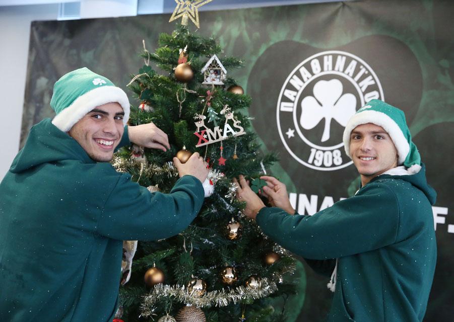 PAO TV: Τα πιο όμορφα Χριστούγεννα είναι πράσινα | pao.gr