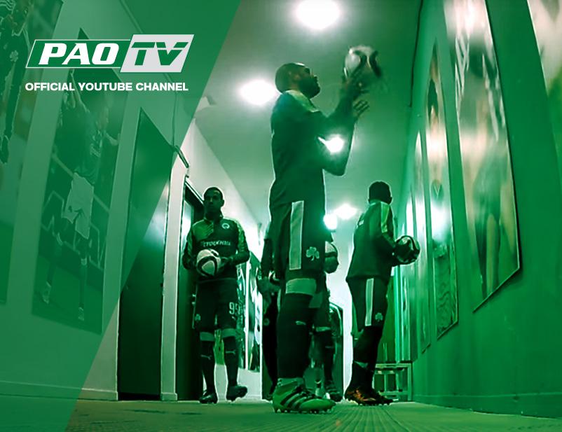 PAO TV: Η παρακάμερα του αγώνα με τη Βέροια | pao.gr