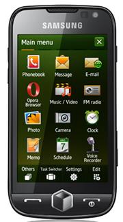 Το Samsung OMNIA II, η πρώτη συσκευή με Windows Mobile 6.5, αποκλειστικά από την COSMOTE | pao.gr