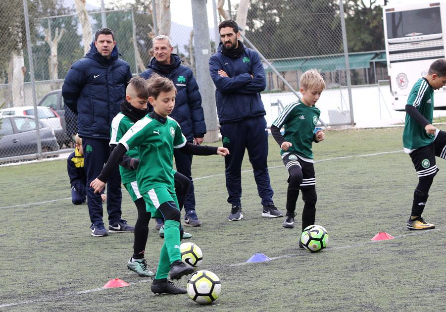 """Ανοικτές προπονήσεις για την """"πράσινη"""" Ακαδημία   pao.gr"""