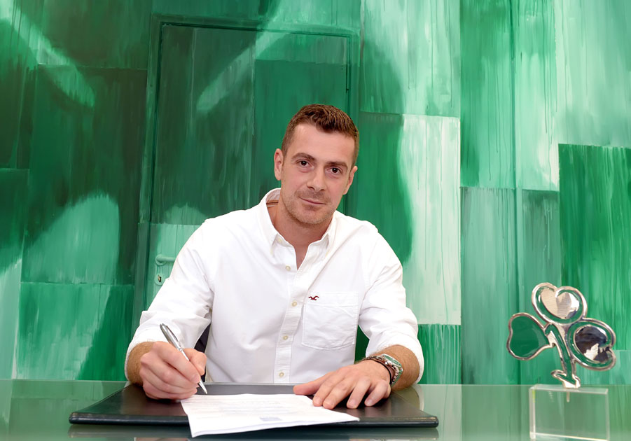 Για 15η σεζόν… πράσινος ο Κοτσόλης | pao.gr