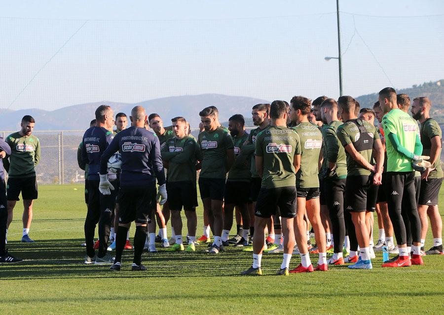 Προπόνηση και αποστολή για το ματς στο Αγρίνιο | pao.gr