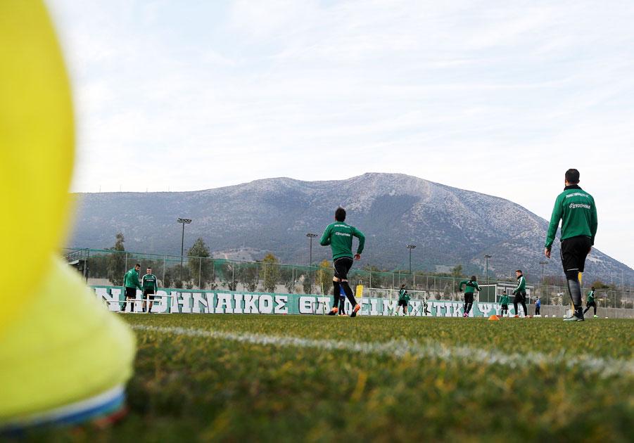 Προπόνηση και αποστολή για το ματς με την ΑΕΚ | pao.gr