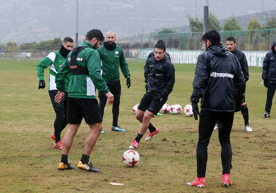Προπόνηση και αποστολή για το ματς με τον Πλατανιά | pao.gr