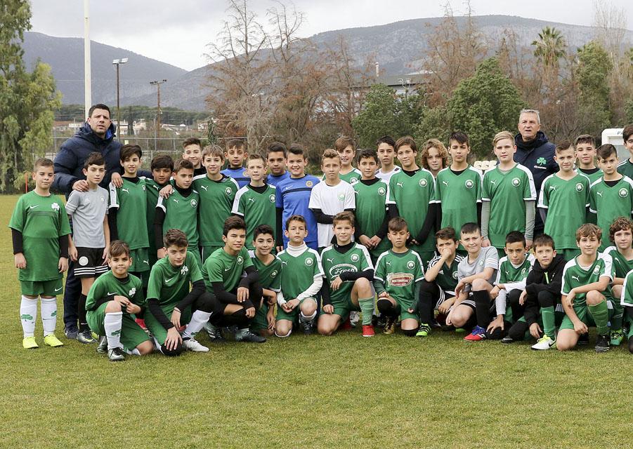 Τουρνουά αξιολόγησης στην Παιανία για τις Σχολές Ποδοσφαίρου Παναθηναϊκού | pao.gr