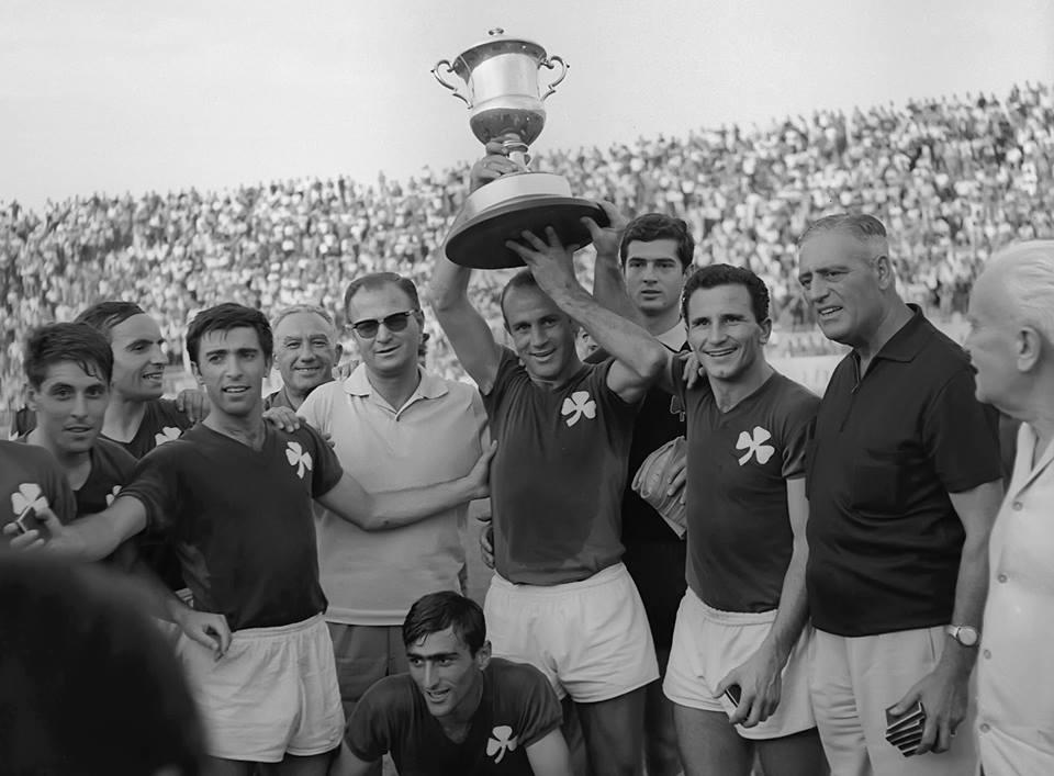 1967 – Το 4ο Κύπελλο | pao.gr