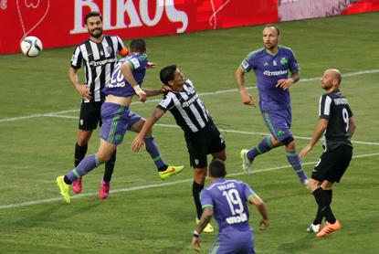 PAOK – Panathinaikos 0-1   pao.gr