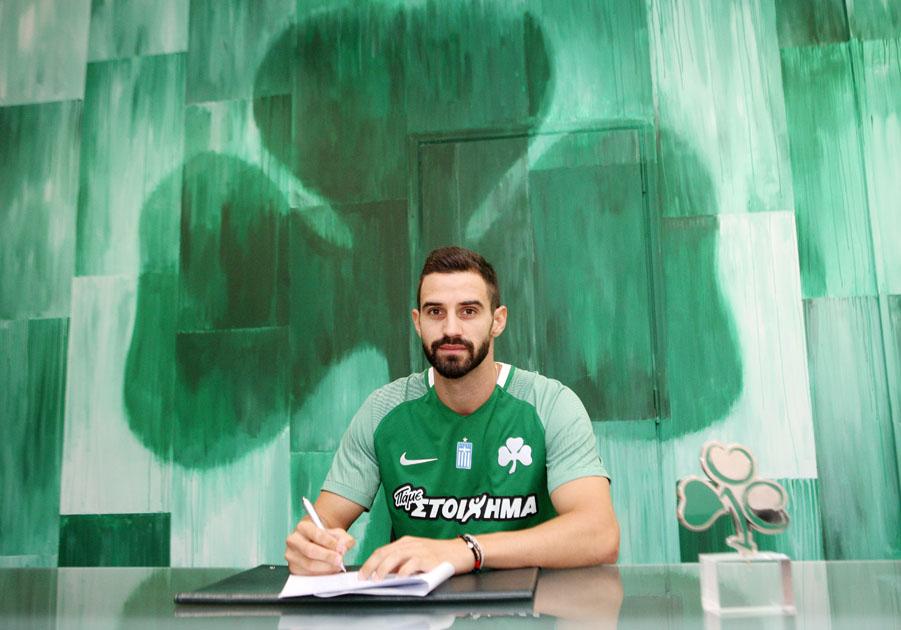 Tassos Avlonitis joins Panathinaikos | pao.gr