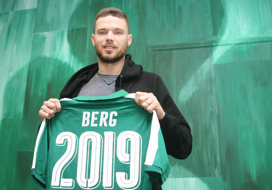 The Swedish striker signed today   pao.gr