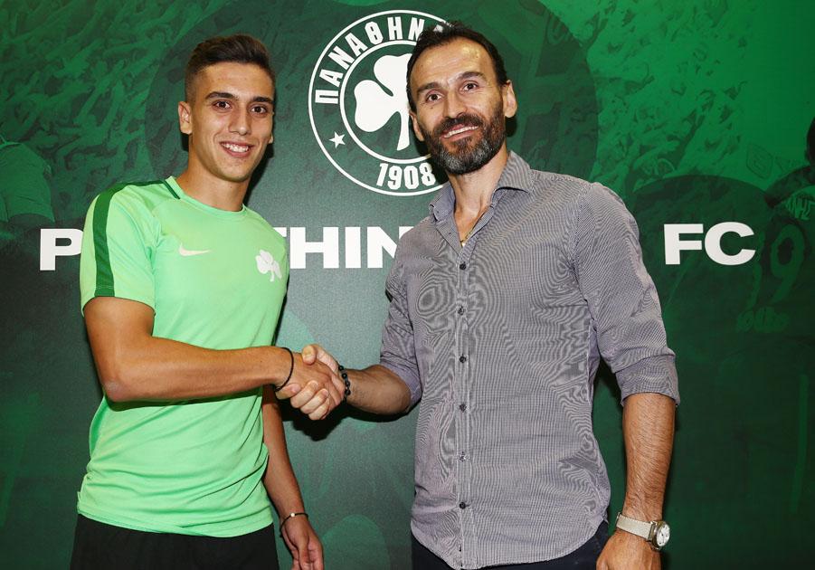 Kambetsis joins Panathinaikos | pao.gr