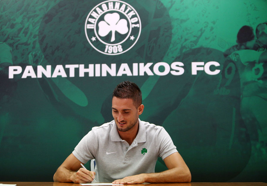 Macheda joins Panathinaikos | pao.gr