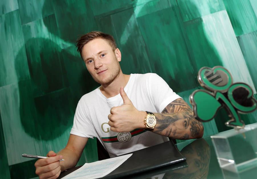 Mattias Johansson joined Panathinaikos | pao.gr