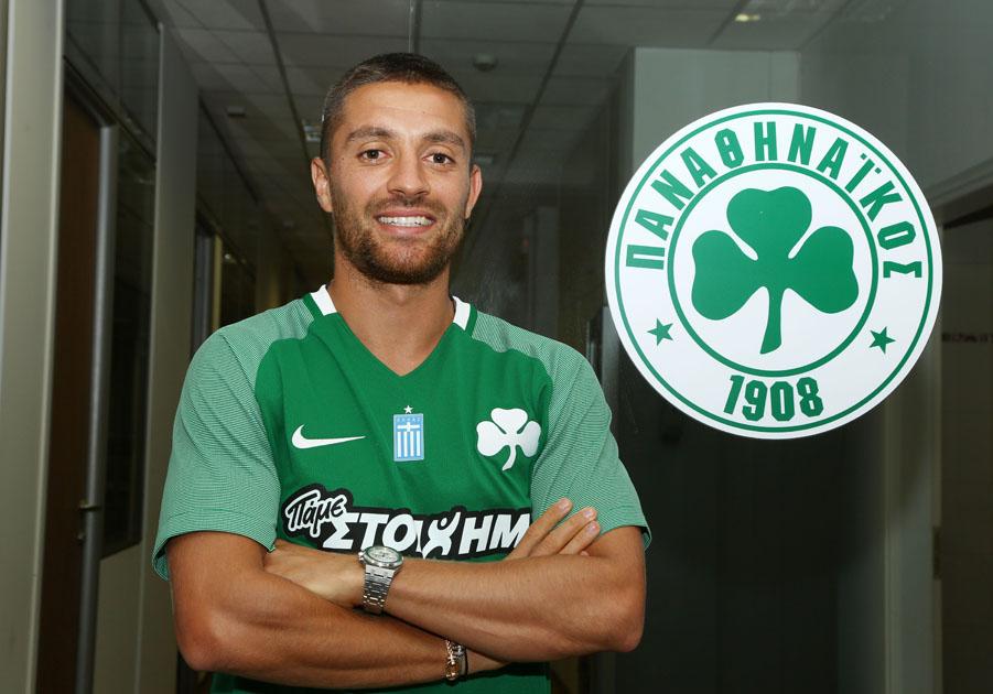 Anthony Mounier joins Panathinaikos for three years | pao.gr