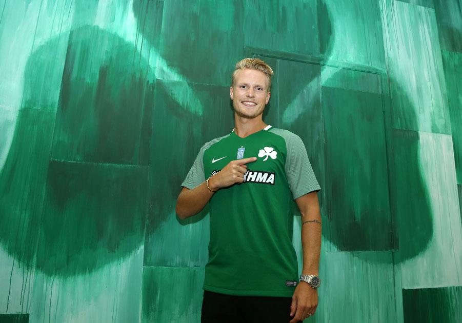 Hiljemark joins Panathinaikos | pao.gr