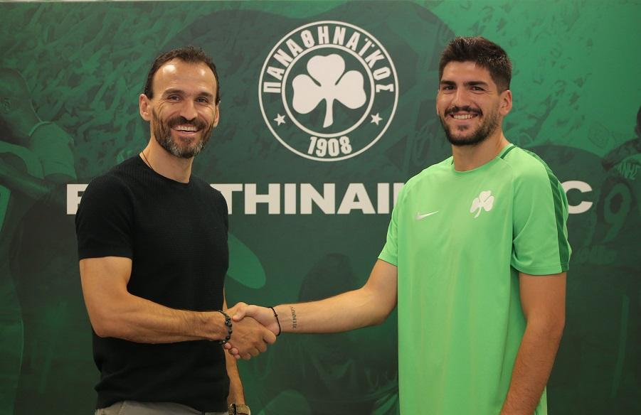 Pantelakis joins Panathinaikos | pao.gr