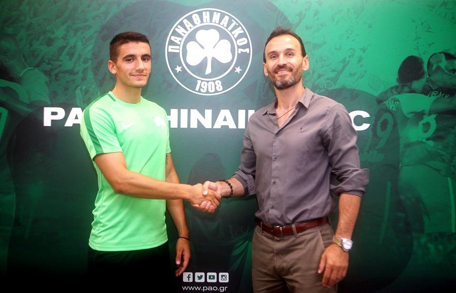 Pougouras signs for Panathinaikos | pao.gr