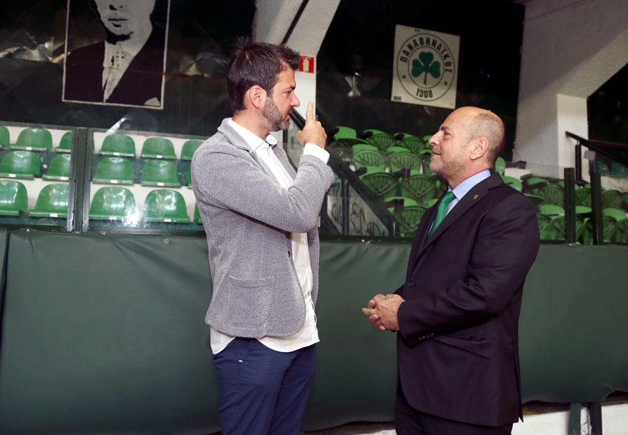 Andrea Stramaccioni has been dismissed | pao.gr