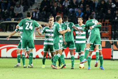 PAOK – Panathinaikos 2-1   pao.gr