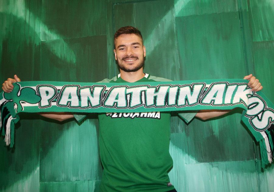 Fanis Tzandaris will be playing for Panathinaikos | pao.gr