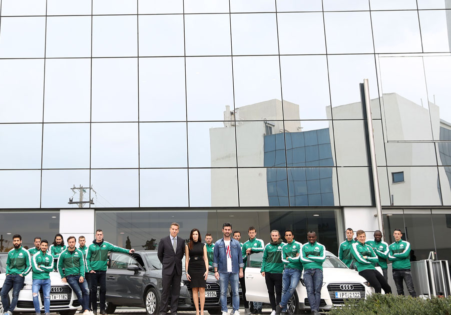 Partnership between Audi and Panathinaikos | pao.gr