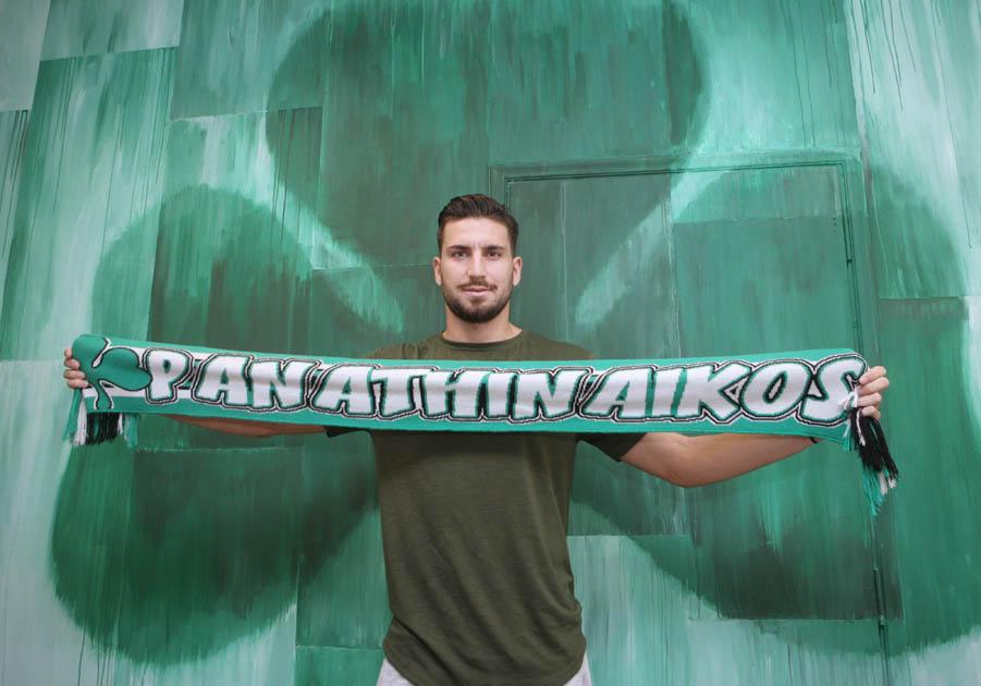 "Sokratis Dioudis in ""Green""   pao.gr"