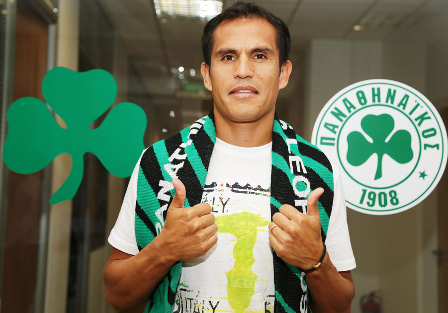 """""""I am going to do everything I can for the shirt of Panathinaikos"""" 