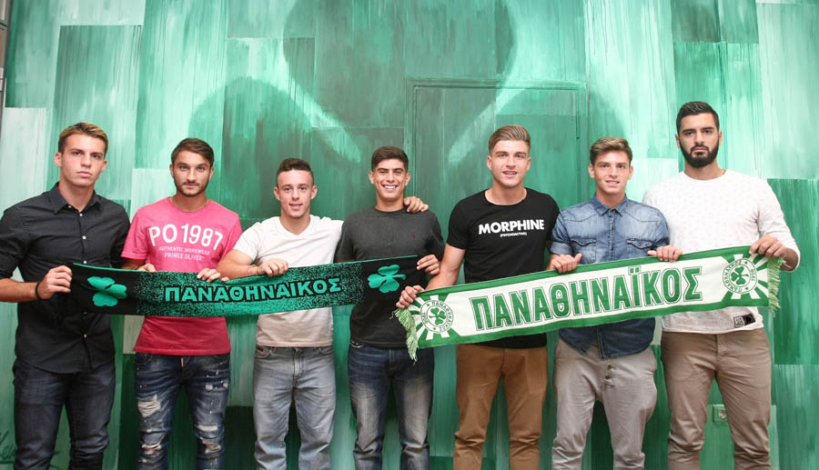 7 new professional contracts   pao.gr