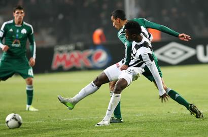 PAOK – Panathinaikos 2-0   pao.gr