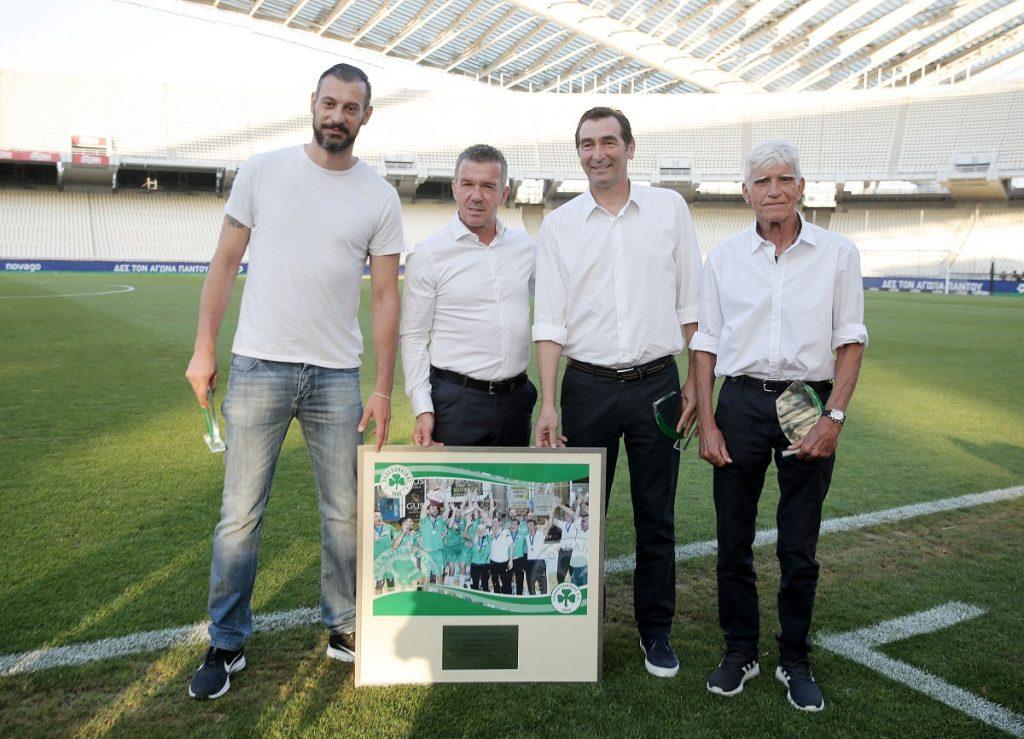 Η ΠΑΕ Παναθηναϊκός βράβευσε την πρωταθλήτρια ομάδα βόλεϊ | pao.gr