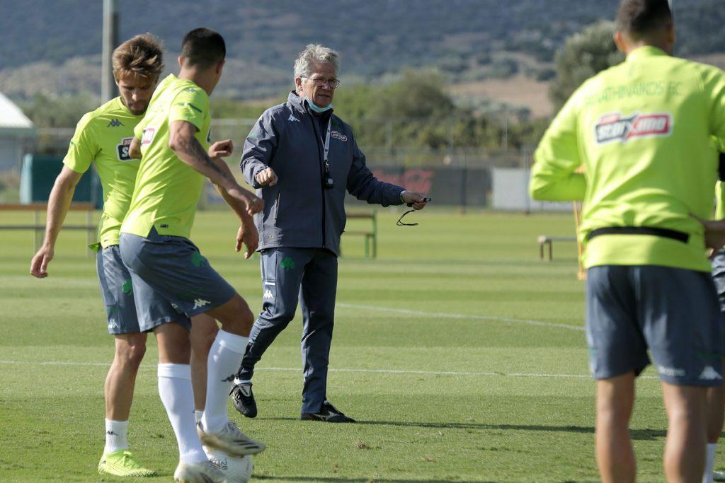 Προπόνηση και αποστολή για το ματς με τον Ολυμπιακό | pao.gr