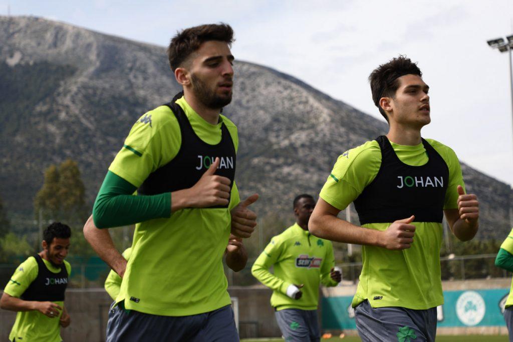 Προπόνηση και αποστολή για το τελευταίο ματς της σεζόν   pao.gr