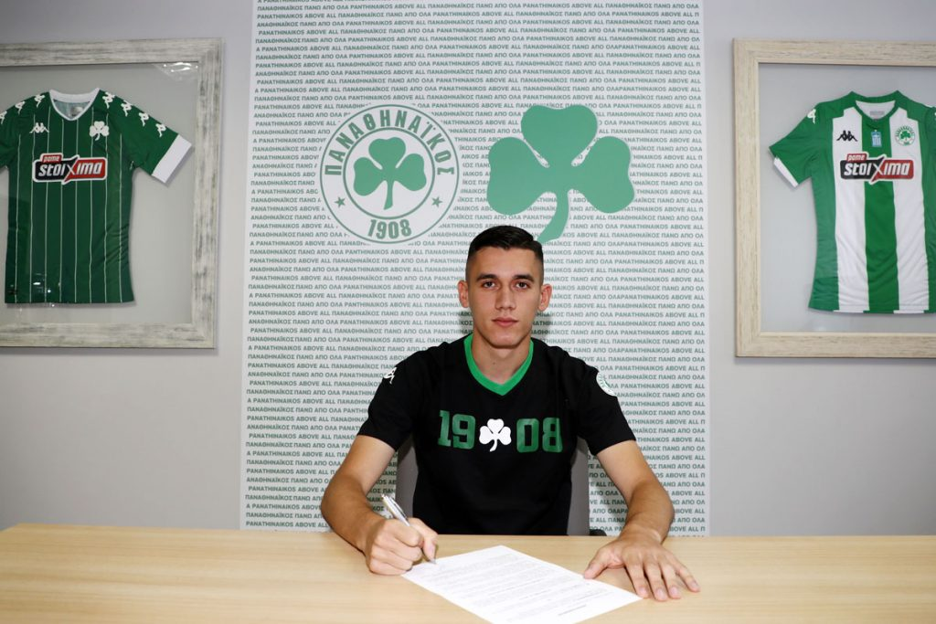 Alexandropoulos remains with Panathinaikos till 2024 | pao.gr